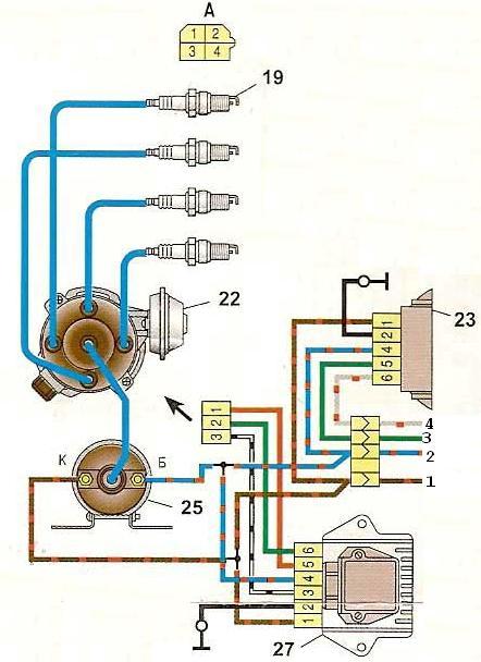 Гольф 3 тахометр схема